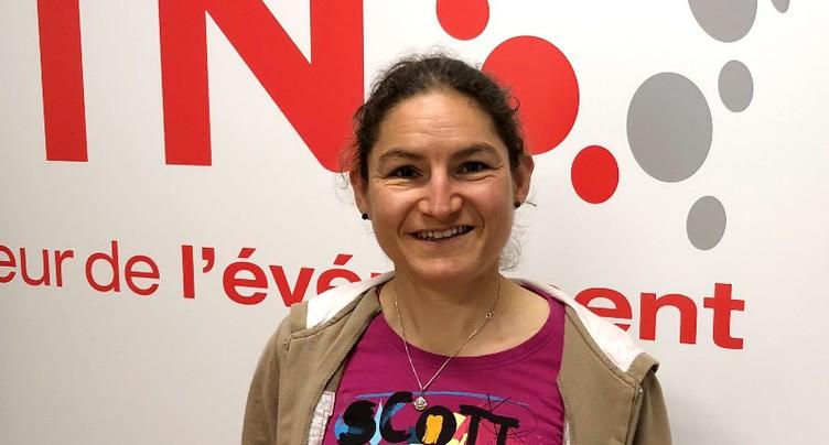 Florence Darbellay, reine de la Trans VTT