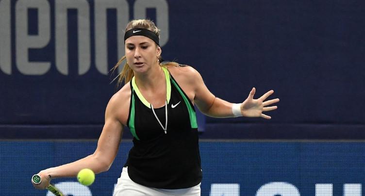 Belinda Bencic sortie en deux sets à Roland-Garros
