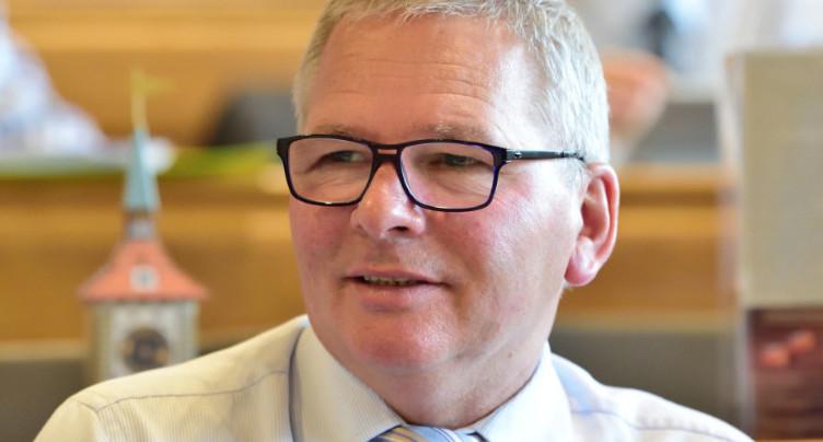 Etienne Klopfenstein : un an à la tête de la députation