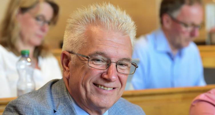 Pierre-Yves Grivel quitte la présidence du PLR bernois