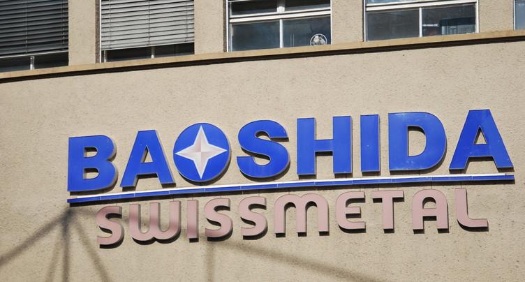 Sursis concordataire prolongé pour Baoshida Swissmetal