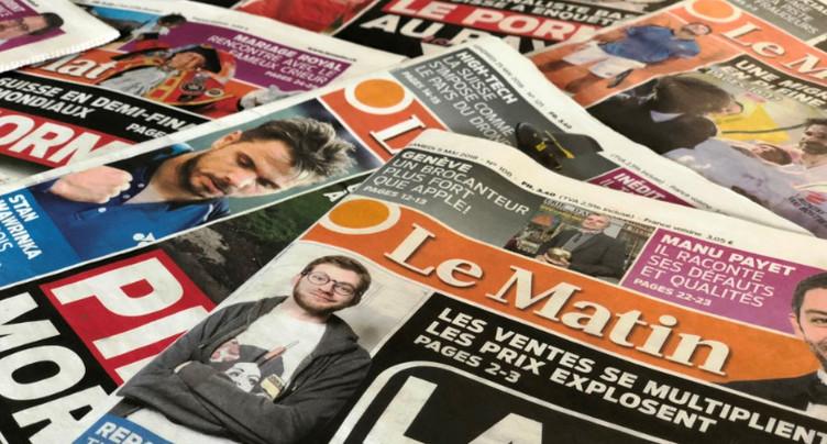 La disparition du journal Le Matin inquiète les kiosquiers jurassiens