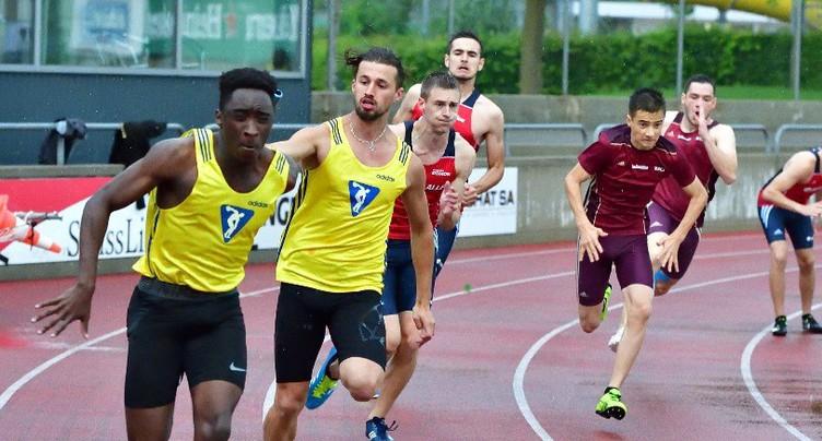 Championnats jurassiens et neuchâtelois de relais : Bassecourt et Alle raflent les titres du 4x100m