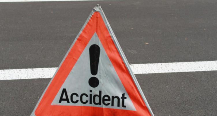 Un accident grave sur la route du Reymond