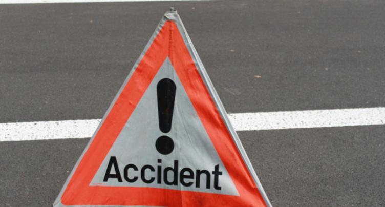 Une collision entre une voiture et un train à Anet