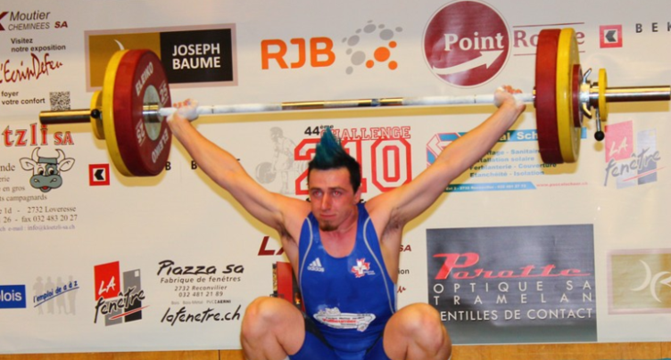 Haltérophilie : Yannick Tschan champion de Ligue Nationale A