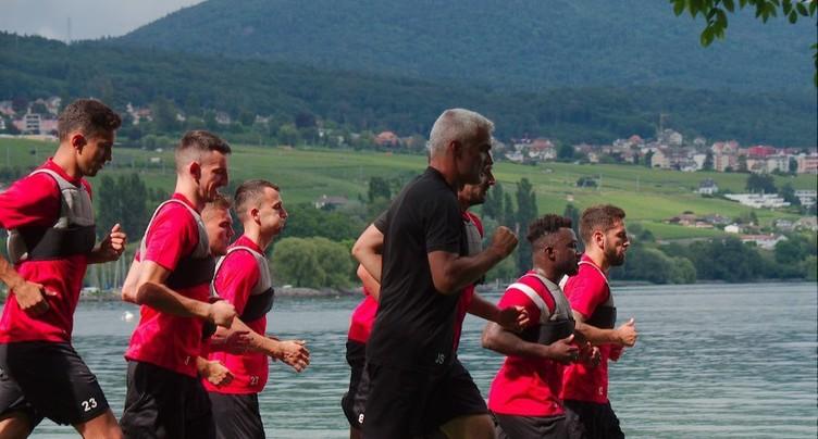 Neuchâtel Xamax FCS face à Lucerne pour la reprise