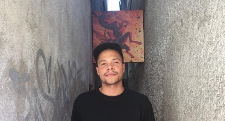 Dexter Maurer investit une ruelle pour Delémont'BD