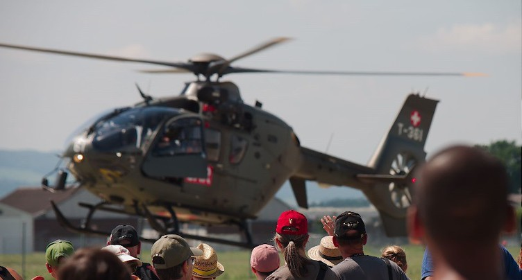 La base aérienne de Payerne séduit