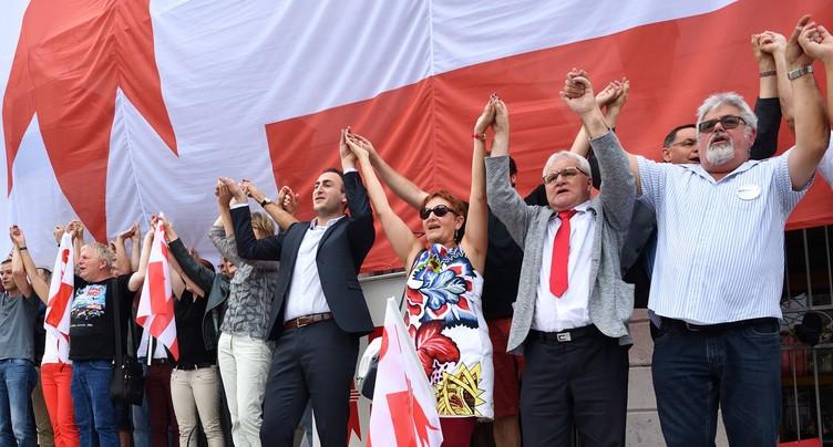Un an après, le vote communaliste célébré à Moutier