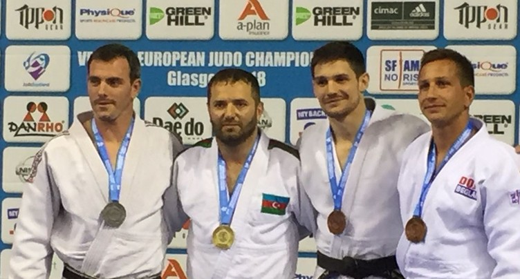Médaille de bronze européenne pour Jean Canzanella