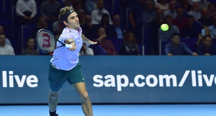 Roger Federer s'impose en Maître