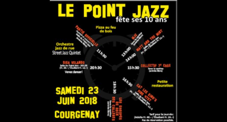 10 ans et un festival pour le Point jazz