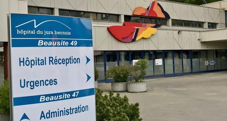 Un processus pour la reprise de l'hôpital de Moutier