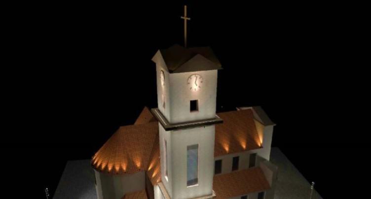 L'église St-Marcel bientôt illuminée à Delémont
