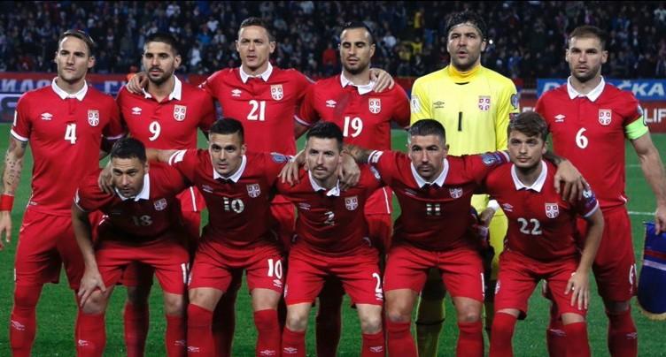 Portrait de l'équipe de Serbie