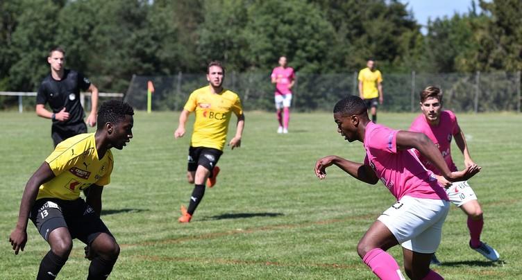 Les SR Delémont étrillent le FC Bassecourt en match amical