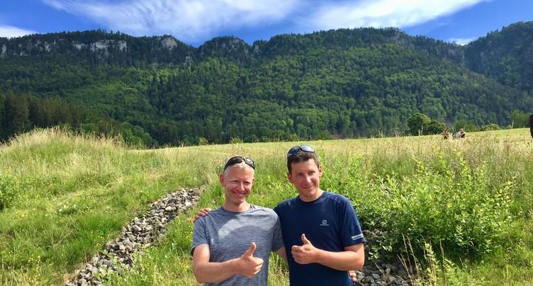 Un duo jurassien s'adjuge la Jura'ltitude