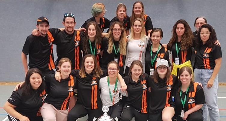 Quatrième place pour les dames du SHC Rossemaison