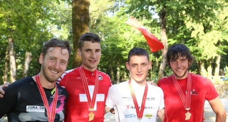 Quatre médailles jurassiennes en vélo trial
