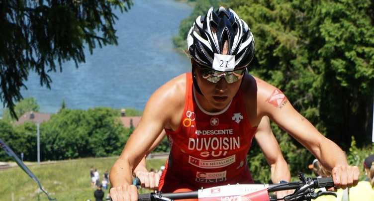 Loanne Duvoisin championne de Suisse