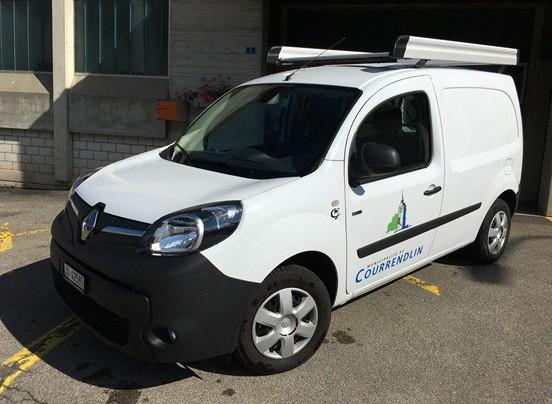 Courrendlin se dote de deux véhicules électriques