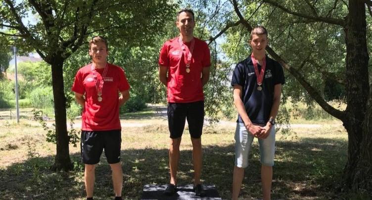 Maxence Hofer en bronze aux championnats de Suisse de pentathlon