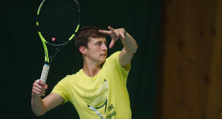 Damien Wenger fait ses armes à l'US Open