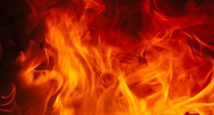 Incendie dans un parking à Bienne