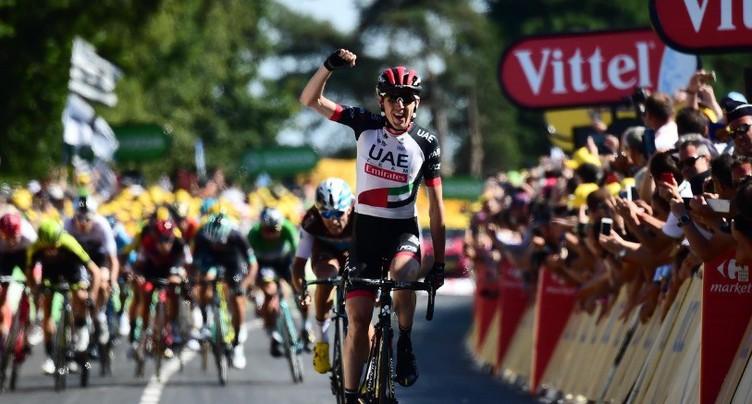 Dan Martin vainqueur en Bretagne
