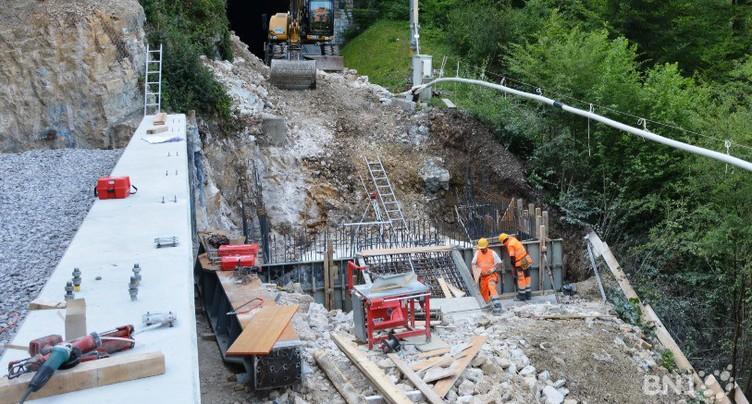 Un chantier à 48 millions entre Delémont et Delle