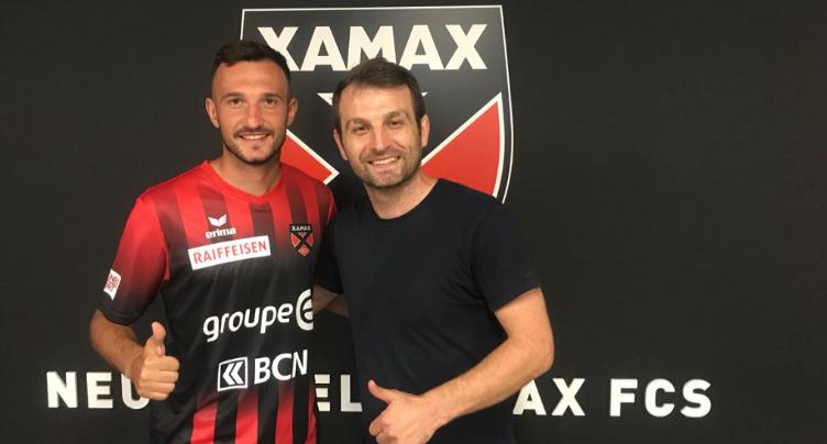 Arbnor Fejzullahu signe à Xamax