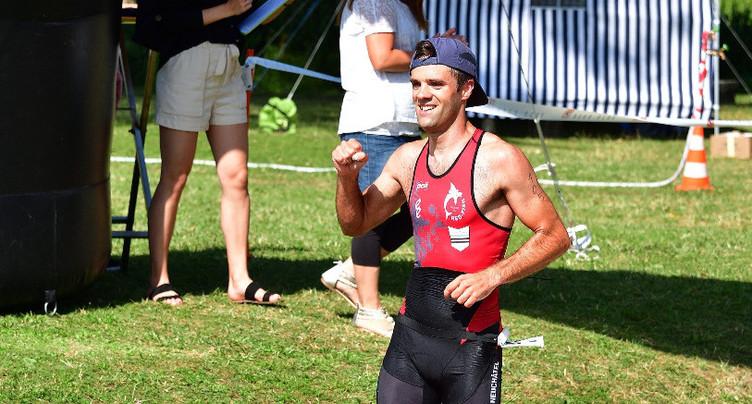 Michaël Verniers domine le triathlon d'Asuel