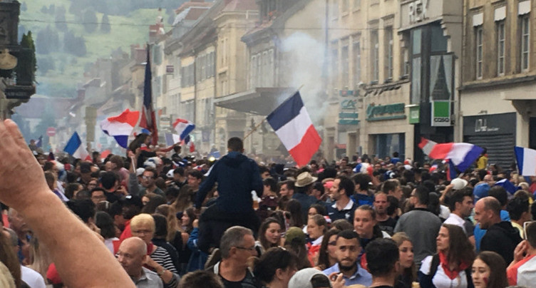 La France en liesse