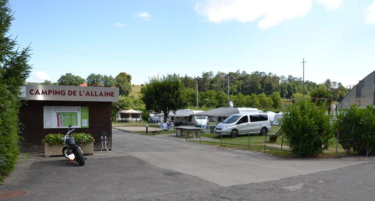 Des inquiétudes pour le camping de l'Allaine