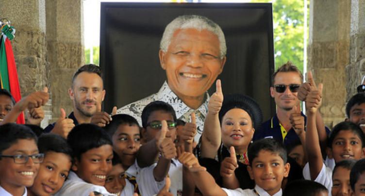 Afrique du Sud Cent après sa naissance, hommage à Nelson Mandela