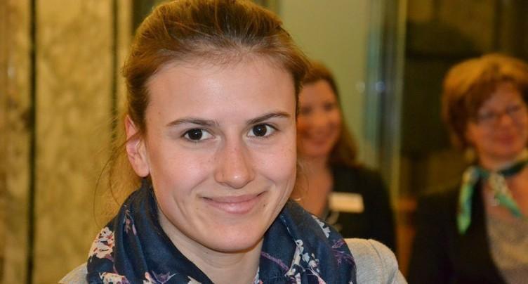 Pauline Brunner éliminée en seizièmes de finale
