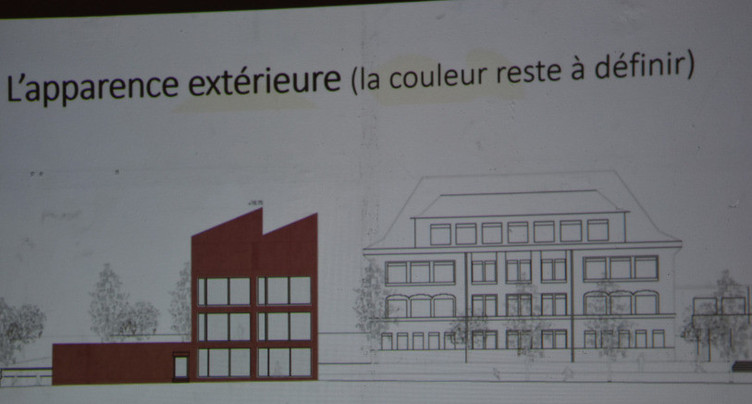 Bâtiment scolaire largement soutenu à Tavannes