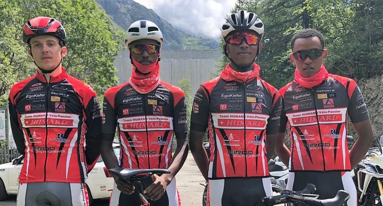 Le Team Humard Vélo-Passion placé en Valais