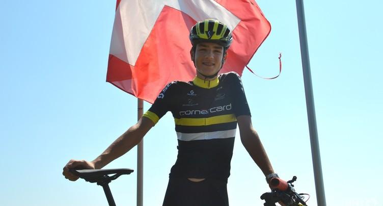 Alexandre Balmer et l'équipe de Suisse en argent