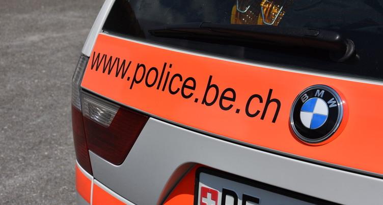 Piéton légèrement blessé après une collision en ville de Bienne