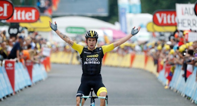 Le Slovène Primoz Roglic vainqueur dans les Pyrénées