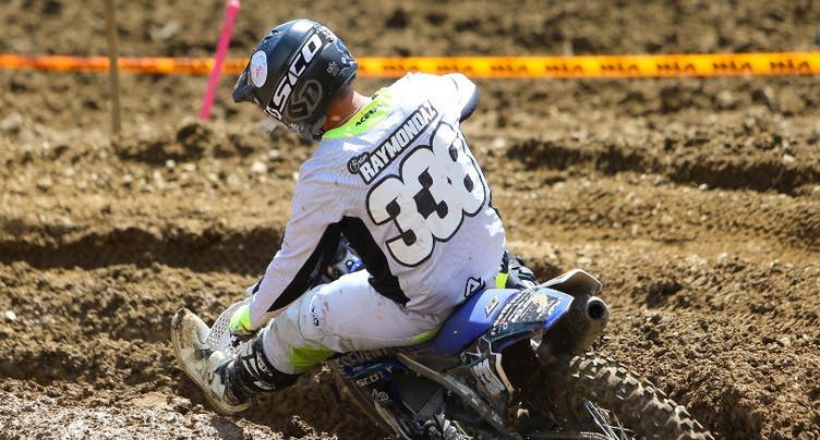 Motocross : une 3e place pour Brian Raymondaz