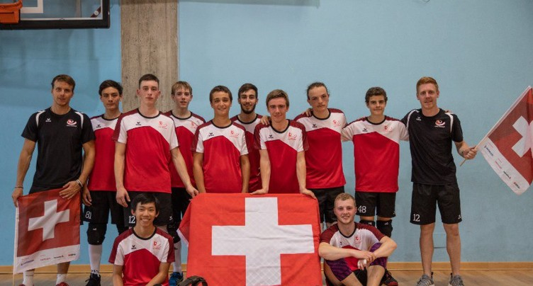 Tchoukball: les juniors suisses rentrent bronzés d'Italie