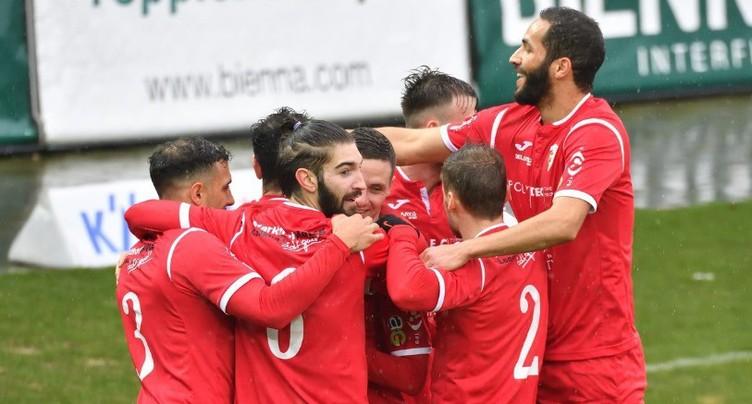 Victoire du FC Bienne