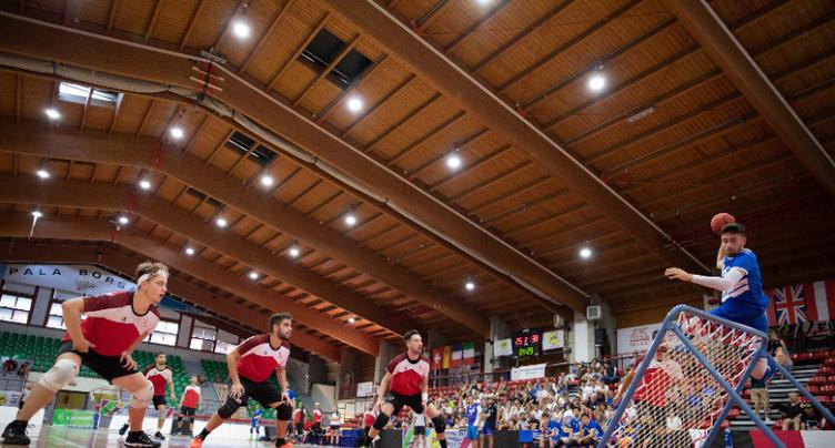 Tchoukball : les équipes suisses en argent et en bronze