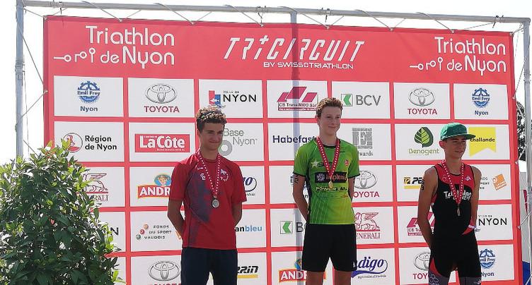 Trois podiums pour le triathlon neuchâtelois