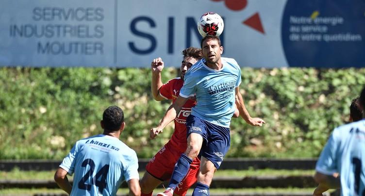Le FC Moutier remporte le premier derby de la saison contre le FCTT