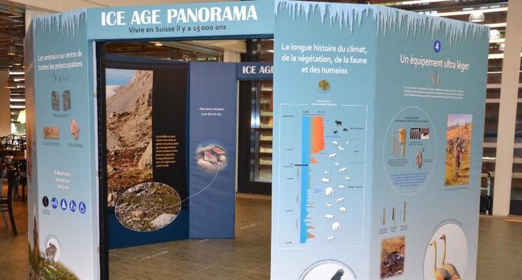 Jura Centre à l'ère glaciaire