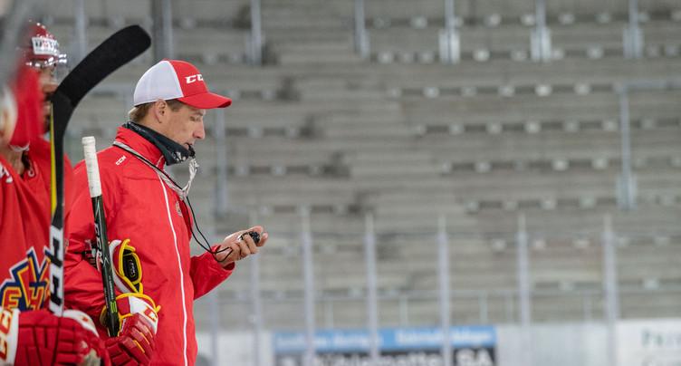 Premier entraînement HC Bienne